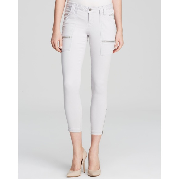 8c519362e0a4 Joie Park Skinny Ankle Zip Pants In Soft Cement